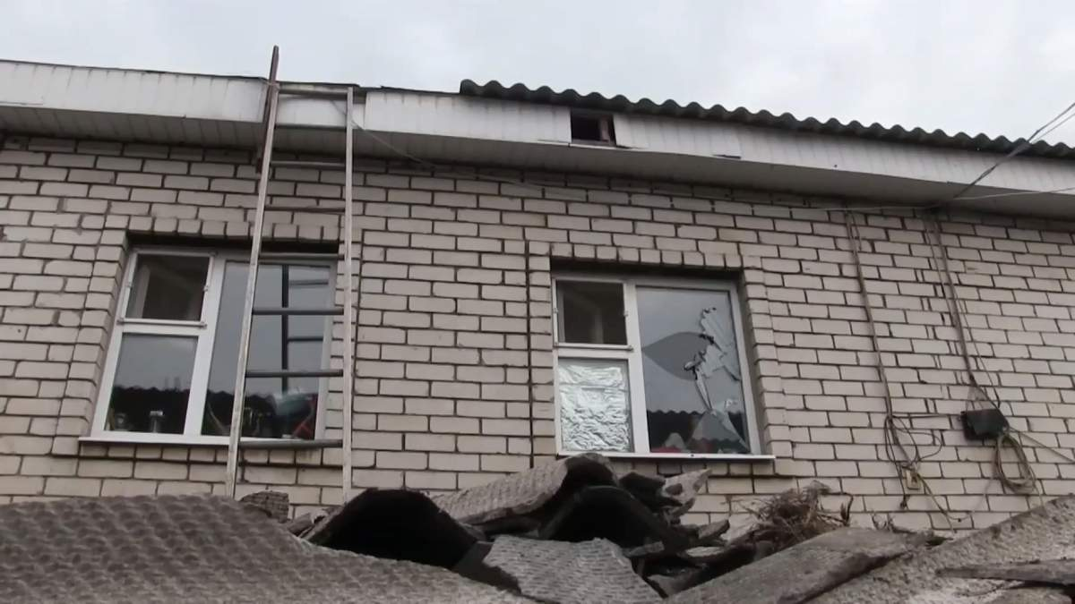Боевики попали в дом жительницы Луганщины