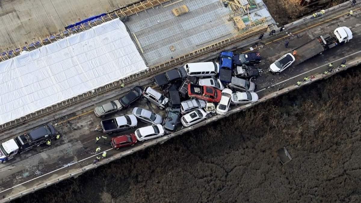 Аварія у США