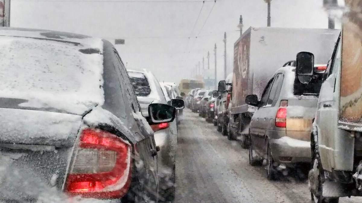 Негода в Україні може ускладнити рух авто