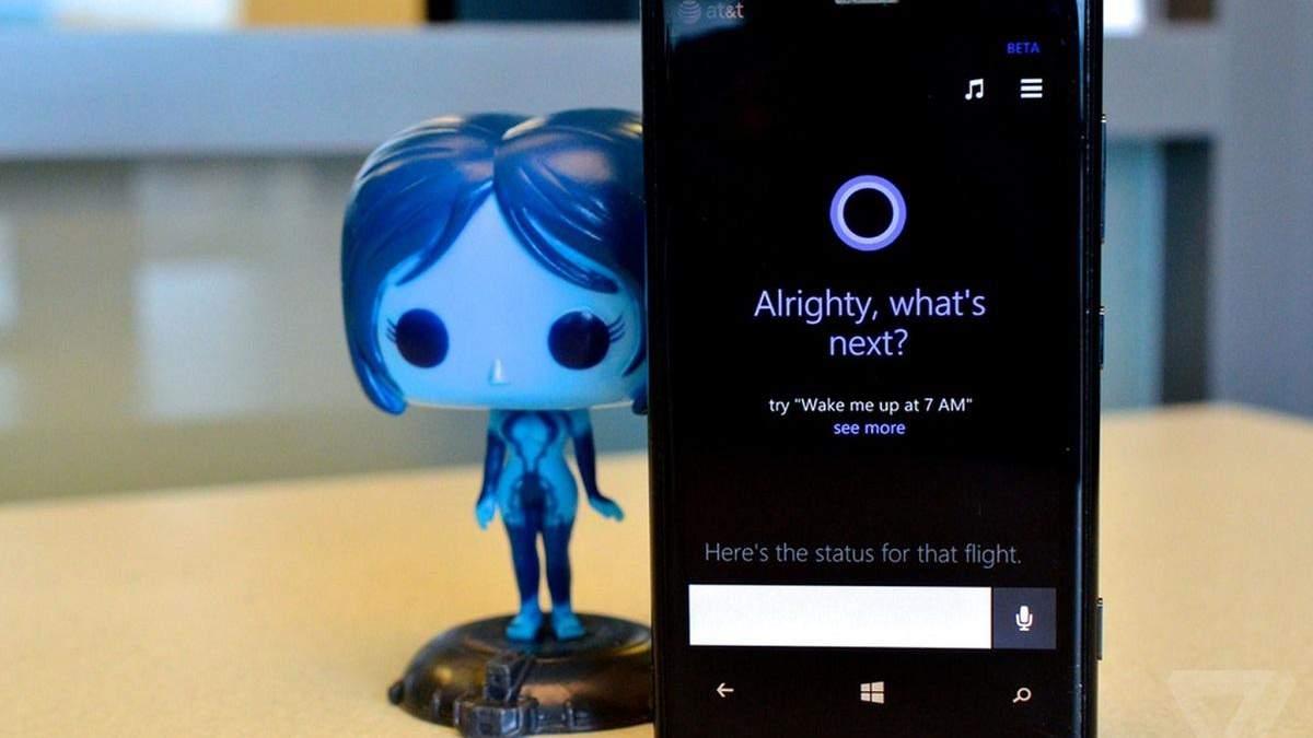 Мобильная Cortana исчезает из продуктов Microsoft