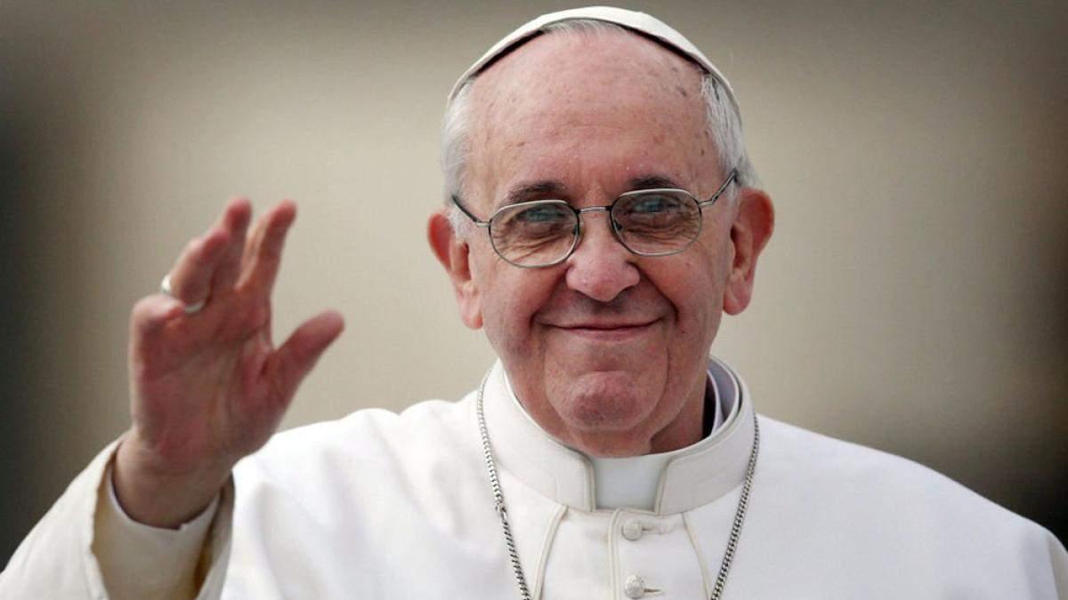 Папа Римский об Украине в рождественском послании 2019