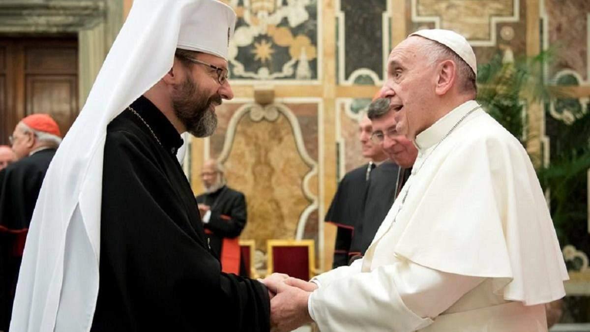 Глава УГКЦ висловився щодо можливості визнання Римо-католицькою церквою