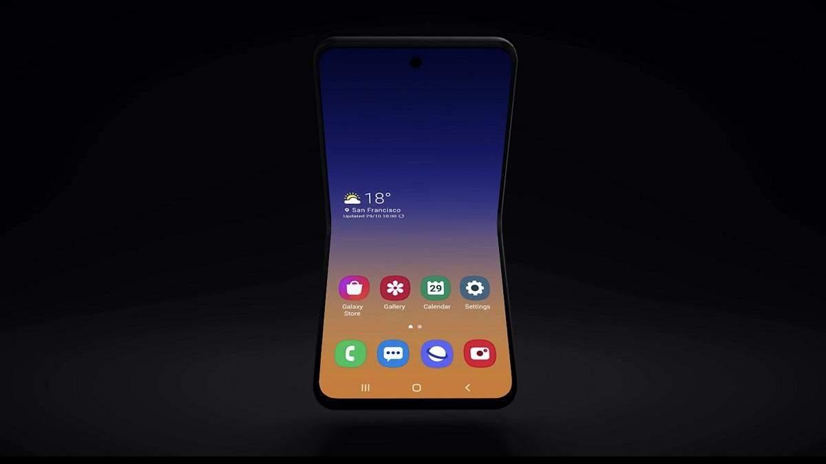 Samsung может применить гибкое стекло в Galaxy Fold 2