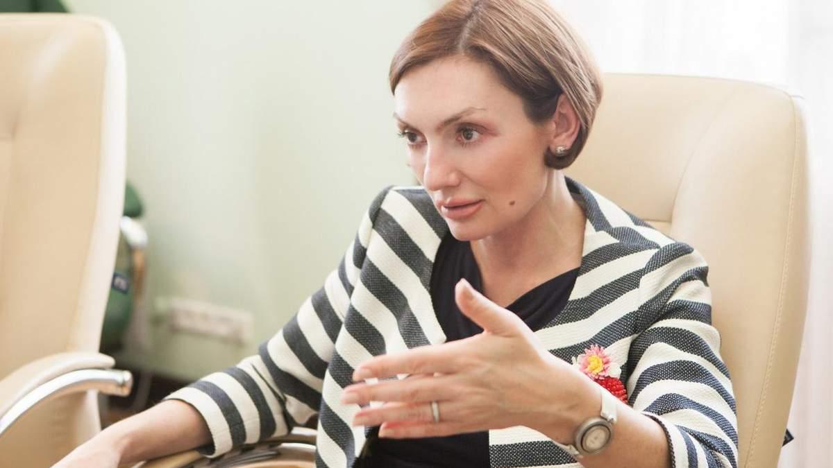 Катерина Рожкова, перший заступник голови НБУ