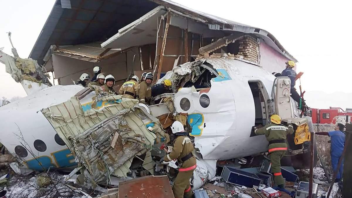 Авіакатастрофа в Казахстані: припинені польоти всіх лайнерів Fokker