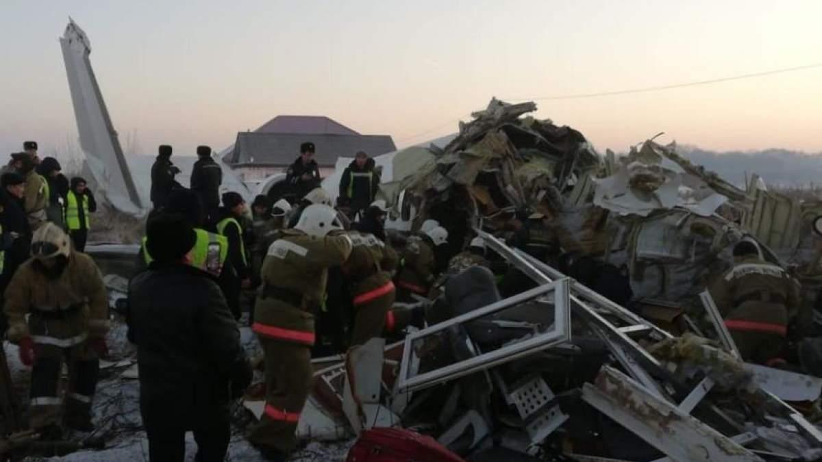 Авіакатастрофа Алмати 27 грудня 2019 – причина падіння літака