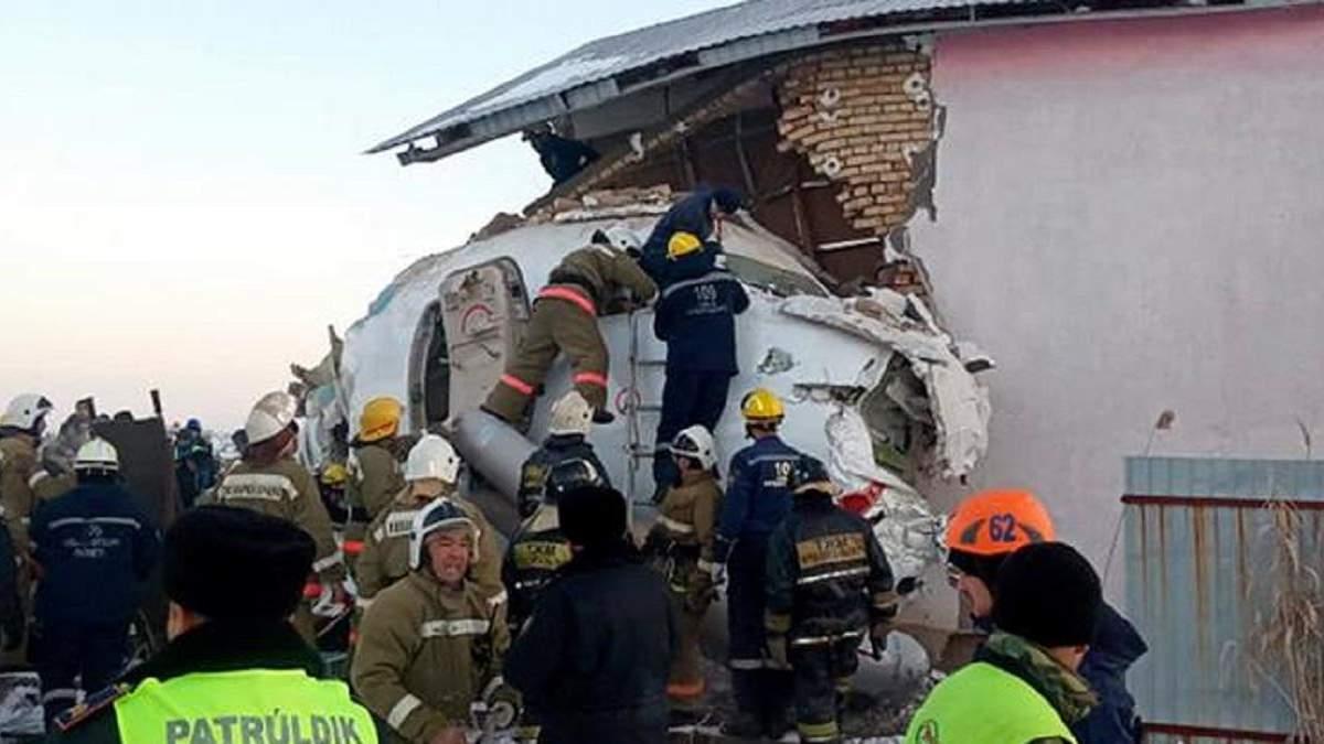 Авіакатастрофа Алмати – Нурсултан: останні новини, що сталося