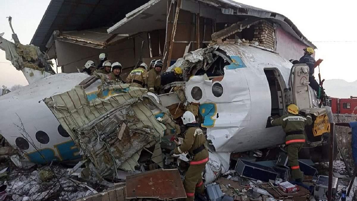 Катастрофа в Казахстане: авиакомпания Bek Air летала без сертификата безопасности