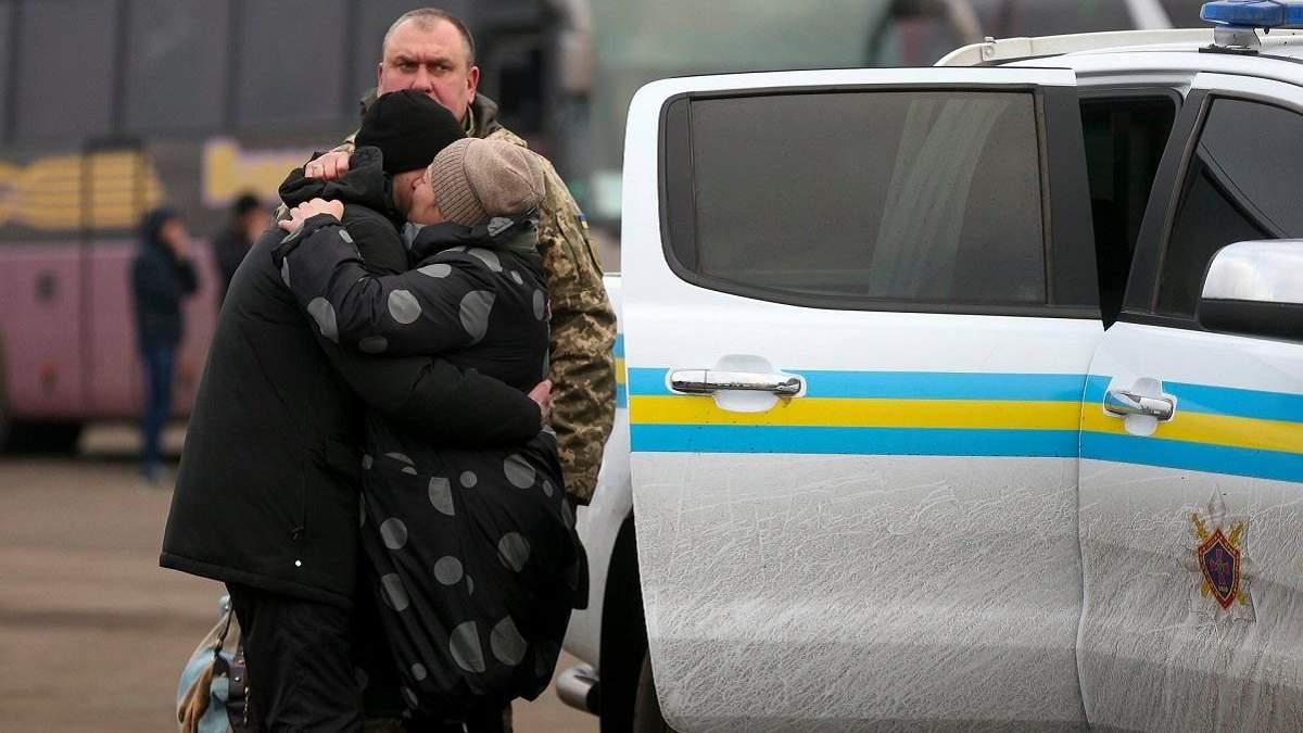 Що відомо про звільнених з російського полону
