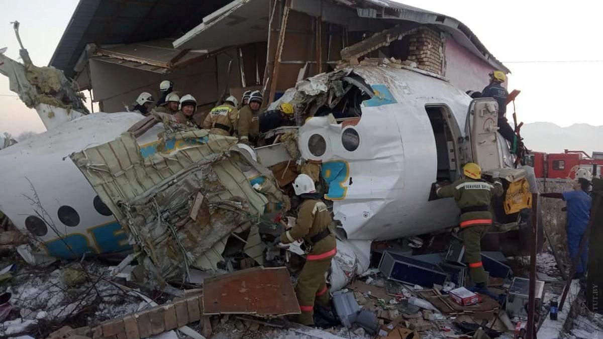 Авіакатастрофа у Казахстані: слідство назвало ще одну версію трагедії