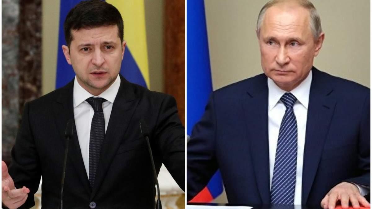 Зеленский поздравил Путина с Новым Годом и обсудил новый обмен пленными