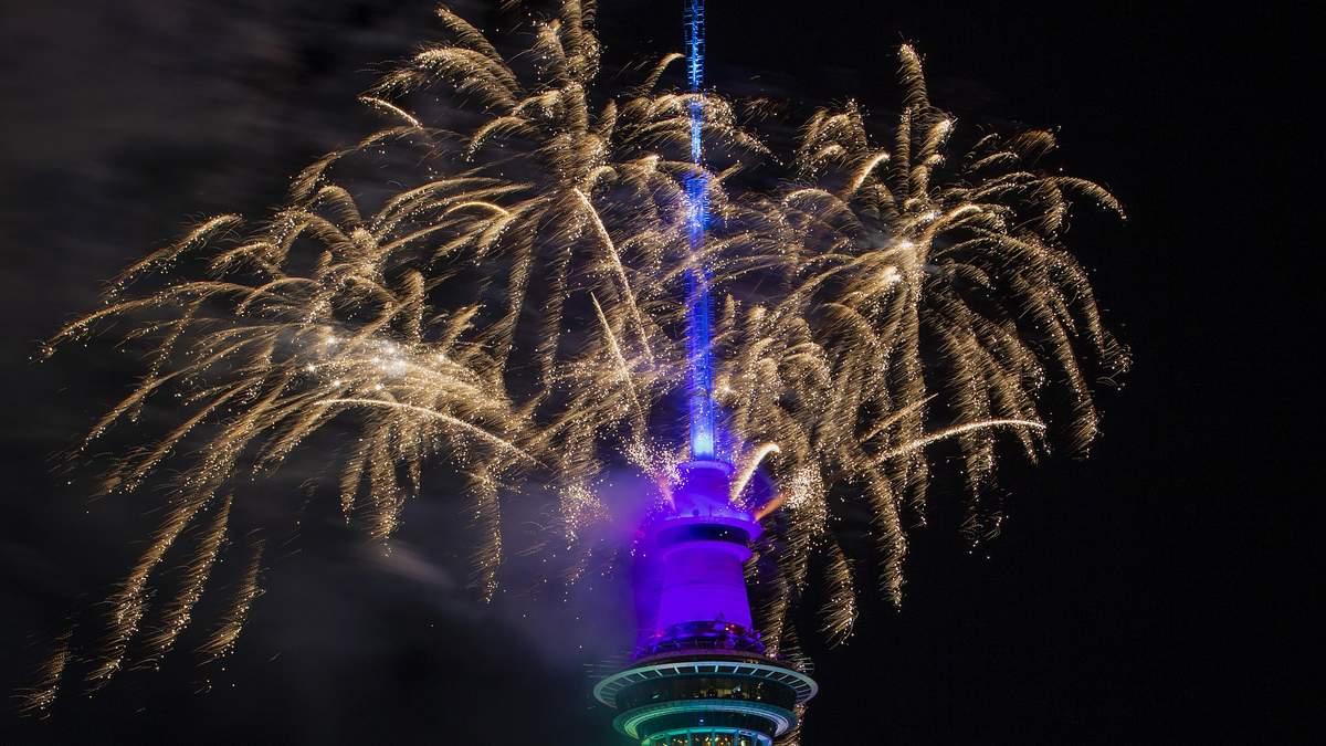 Новый год уже встретили в Новой Зеландии