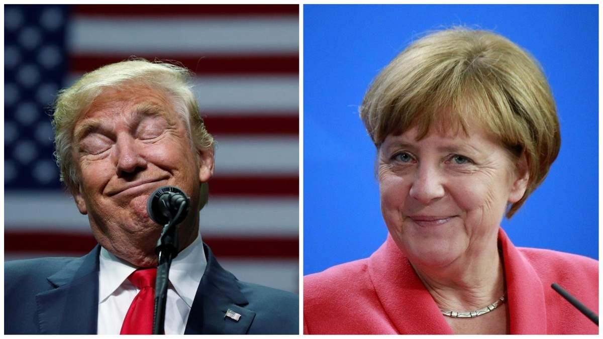 Трамп на Новий рік згадав про Меркель та Україну