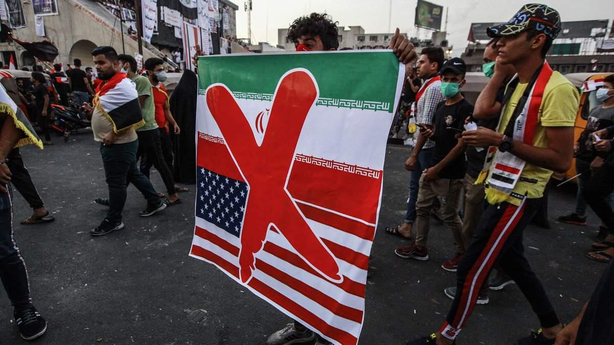 Протест в Іраку проти впливу Ірану та США