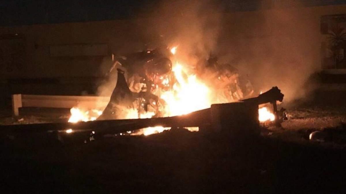 Возле аэропорта в Багдаде упали ракеты