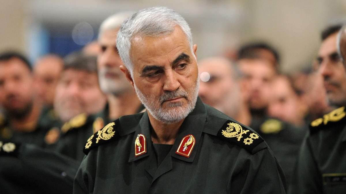 Генерал Касим Сулеймани, убит ударом США в Ираке