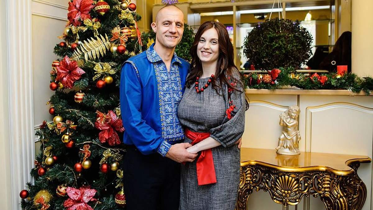 Михайло Гаврилюк з дружиною Яриною