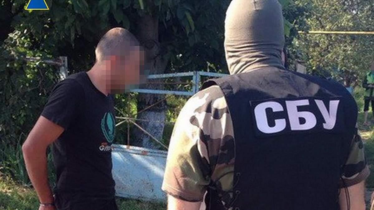 СБУ задержала боевика на Запорожье