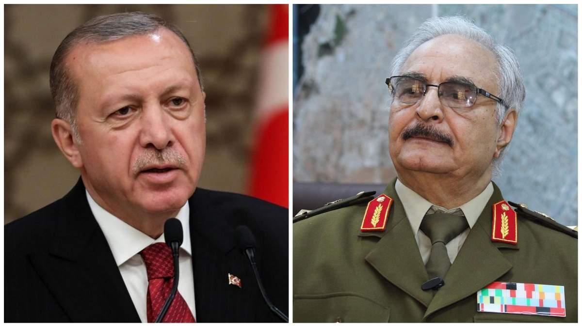 """Хафтар відповів Ердогану: """"Ми приймаємо виклик"""""""