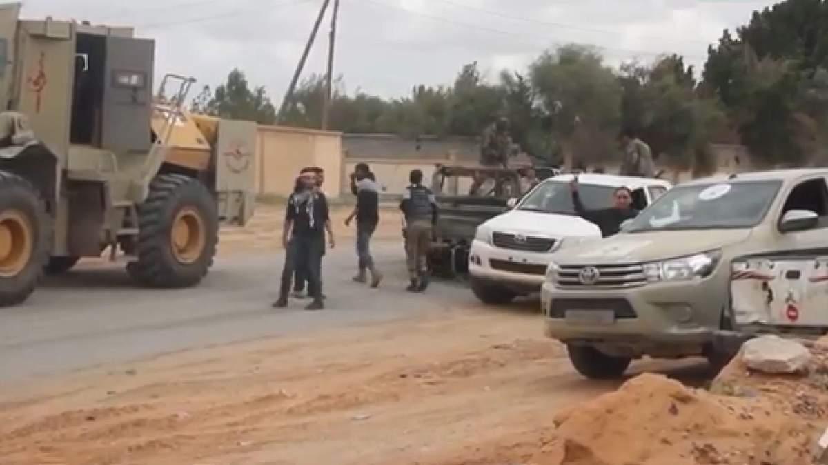 Заворушення у Лівії