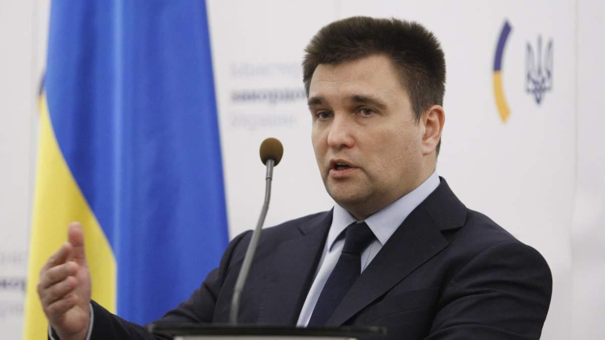 Клімкін назвав завдання України на 2020 рік