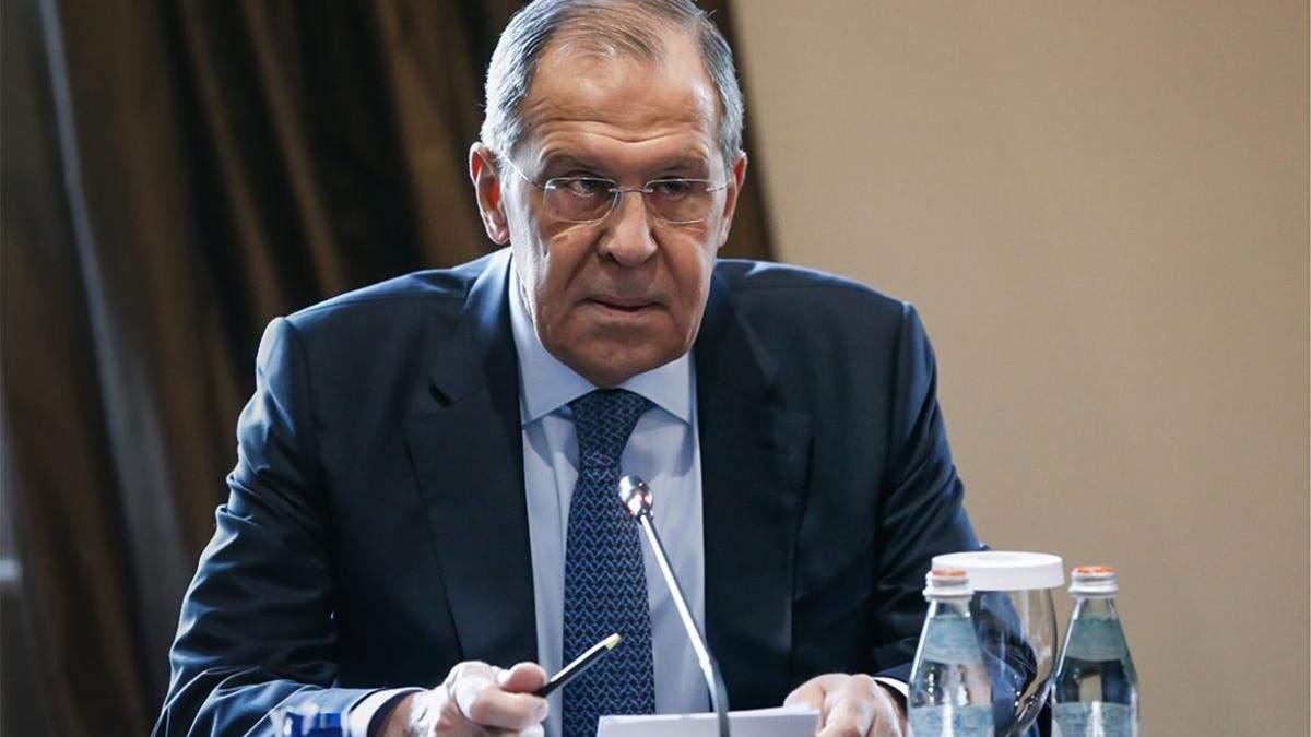 Грузия и Россия - конфликт - оппозиция против визита Лаврова