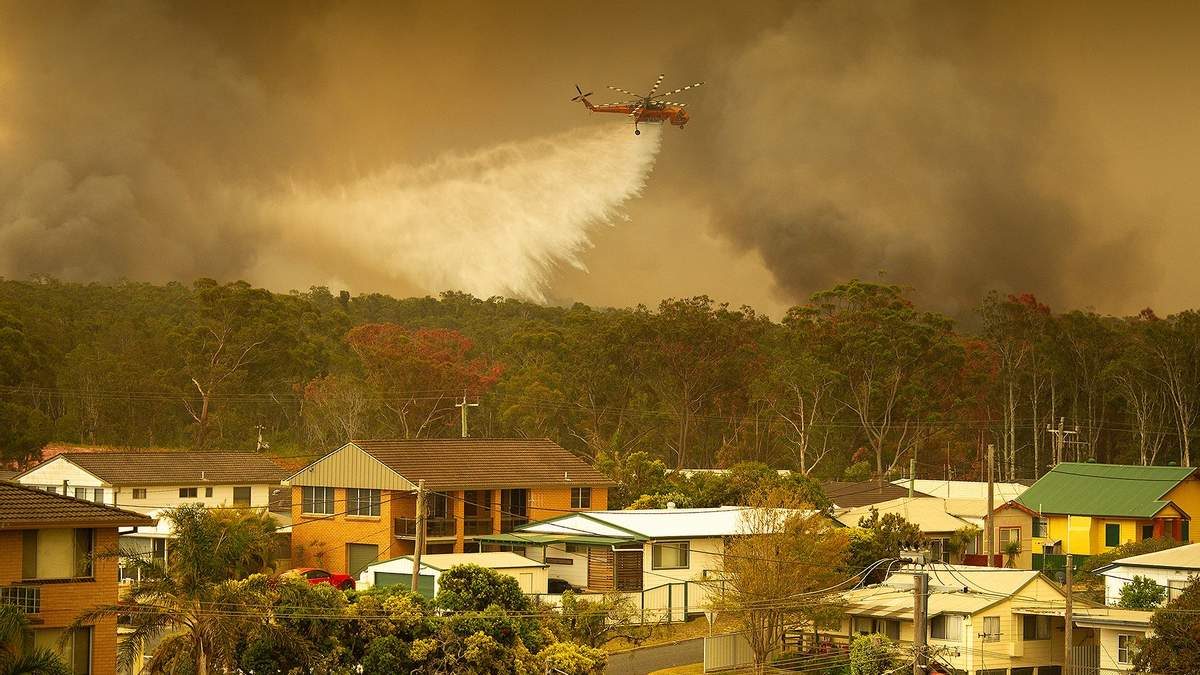 МЗС України оприлюднило заяву з приводу пожеж в Австралії