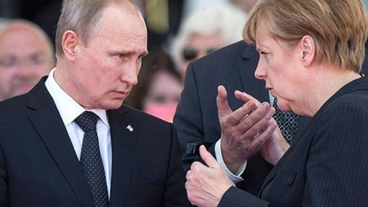 Чого Україна очікує від зустрічі Меркель і Путіна