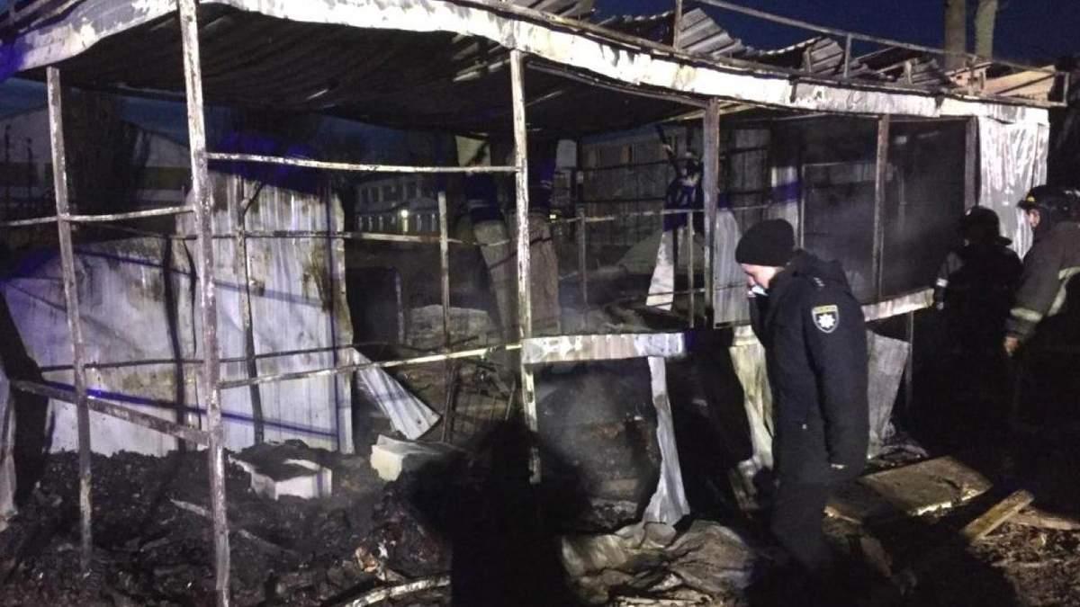 Під Одесою у будівельному вагончику сталася пожежа: троє загиблих