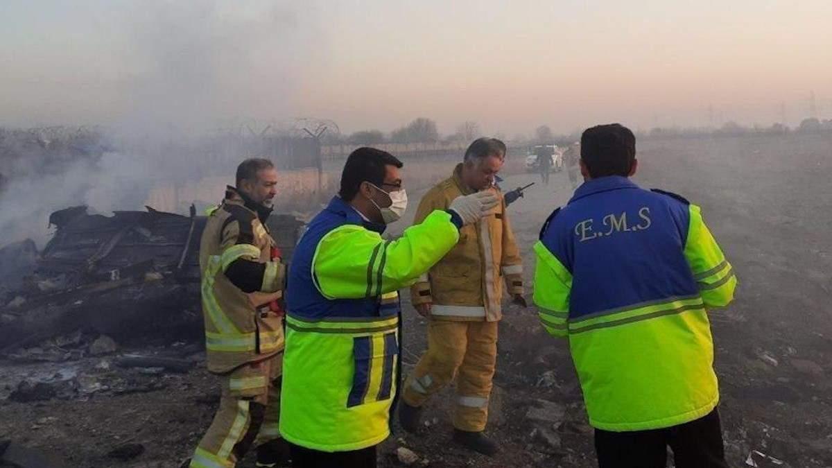 Катастрофа українського літака в Ірані