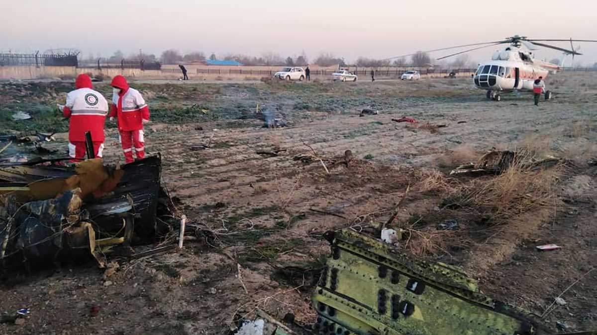 Авіакатастрофа в Ірані 8 січня 2020: список всіх загиблих