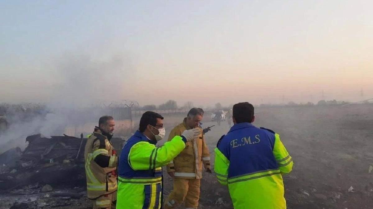 Падіння літака МАУ в Ірані