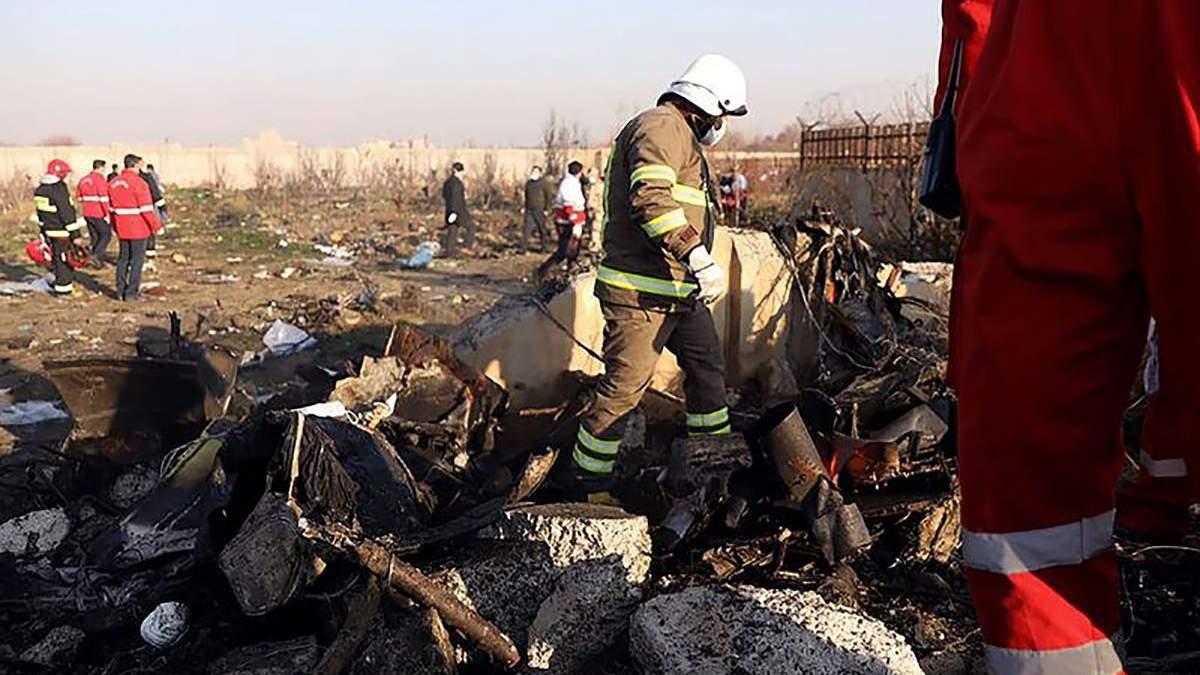 Украинский самолет разбился в Иране не из-за ошибки экипажа