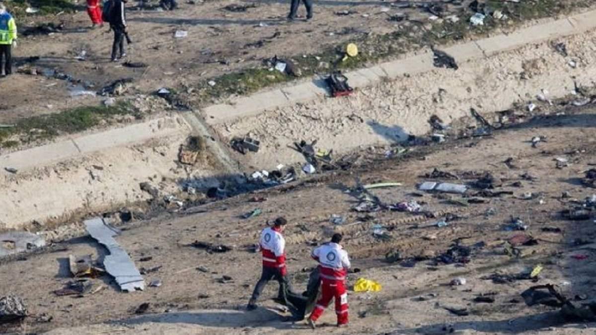 Україна чекає від Ірану дозволу на виліт літаків для транспортування загиблих українців