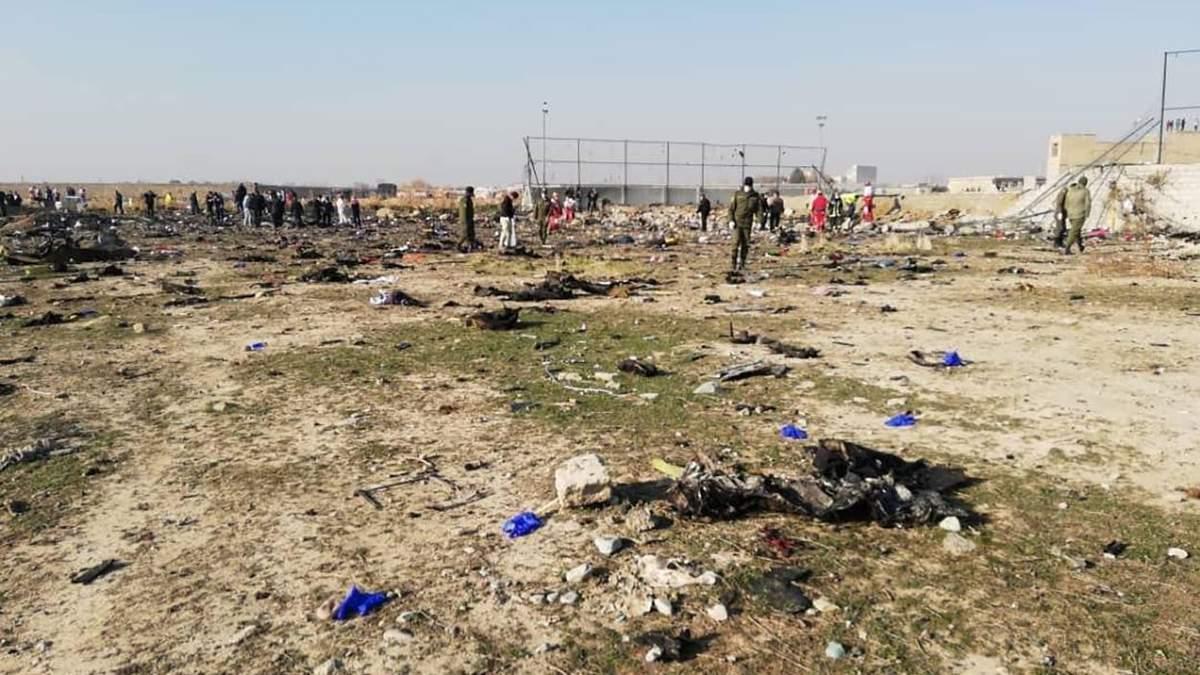 Украинский самолет разбился в Иране