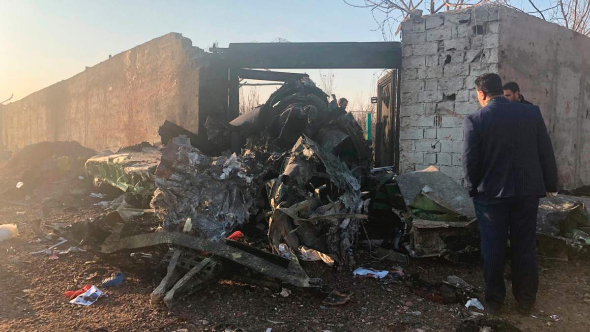 Авіакатастрофа у Тегерані