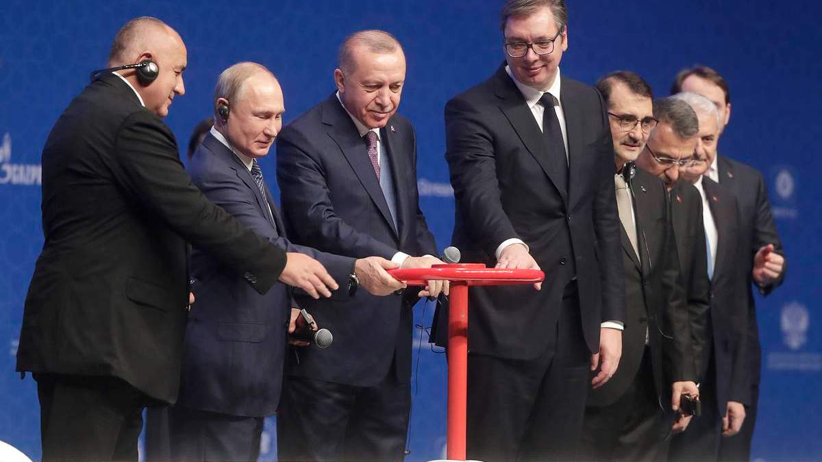 Запуск Турецького потоку 2 – Путін і Ердоган офіційно дали старт