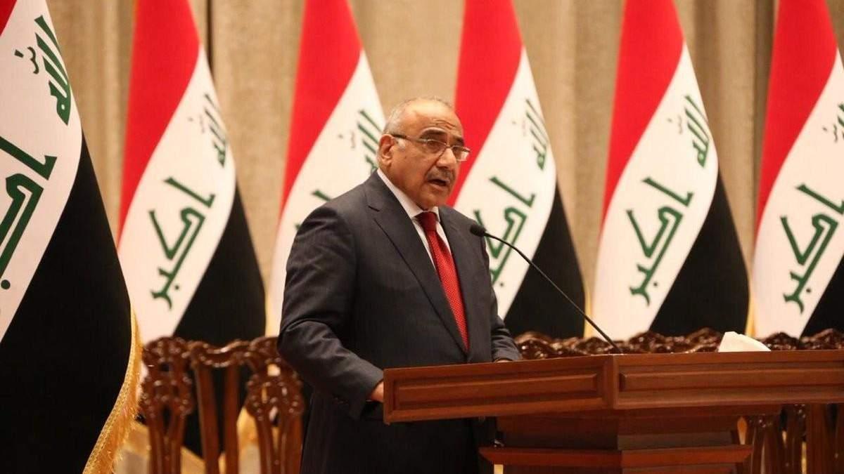 Прем'єр Іраку отримав повідомлення від влади Ірану про таку на військові об'єкти США