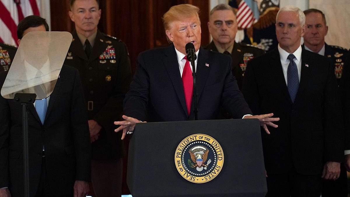 Дональд Трамп звернувся до американського народу