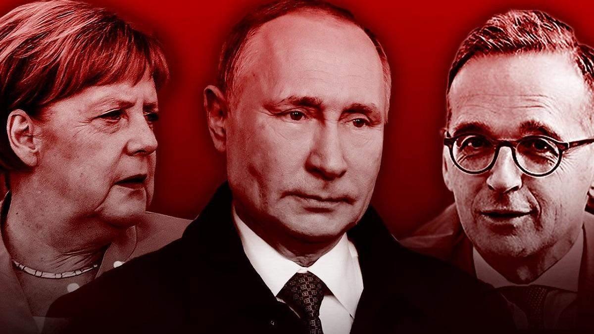 про що говоритимуть Меркель, Маас та Путін