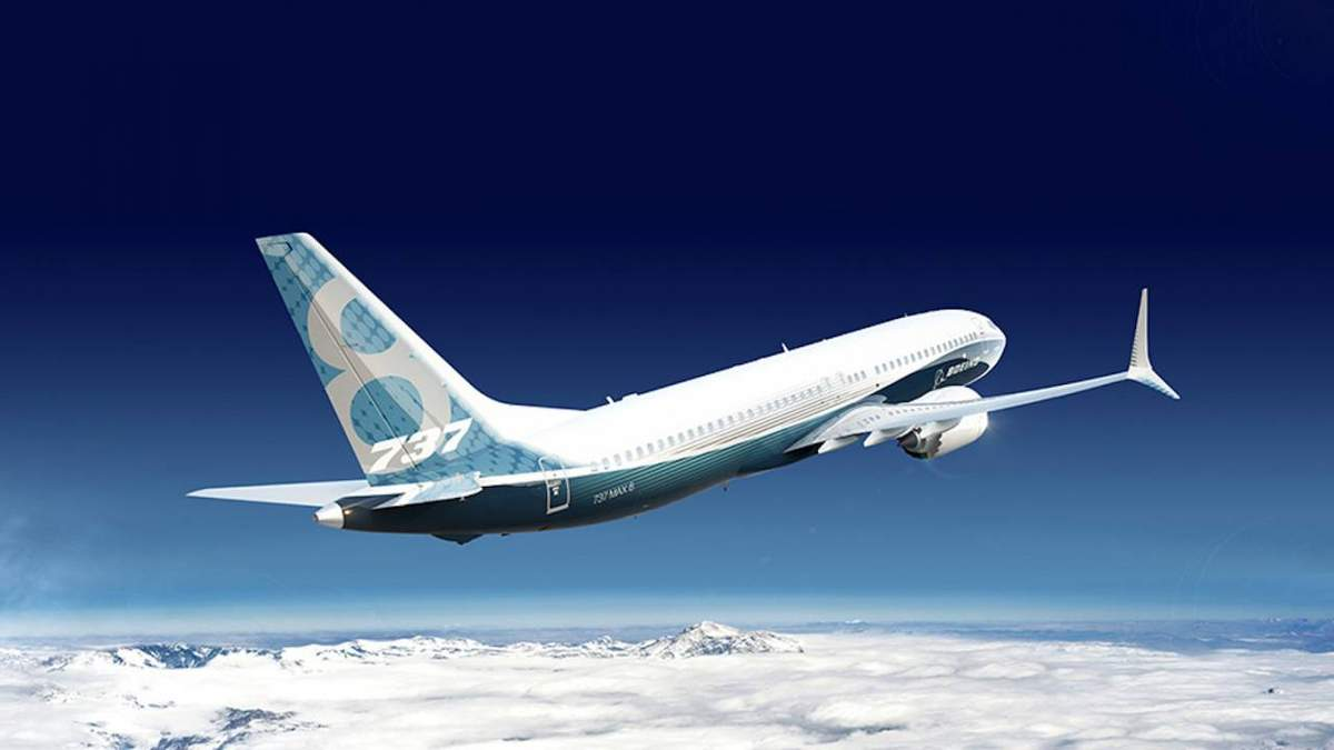 Так выглядит одна из модификаций Boeing 737