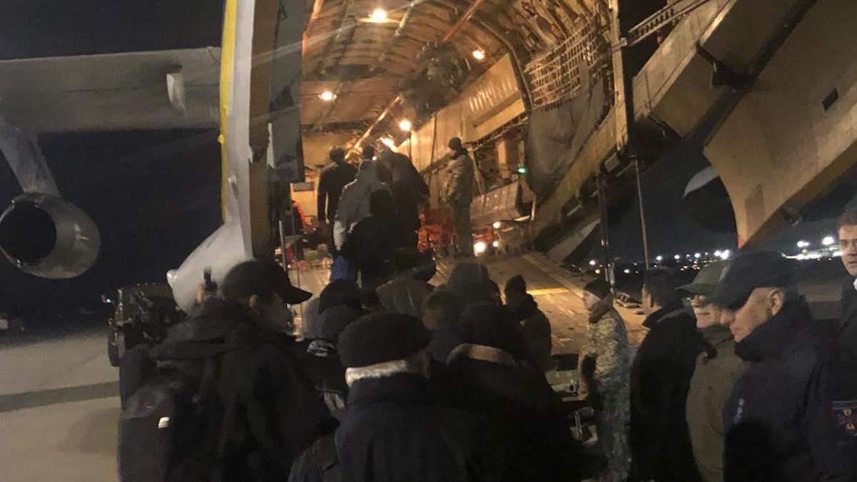 Самолет с украинскими специалистами вечером 8 января вылетел в Иран