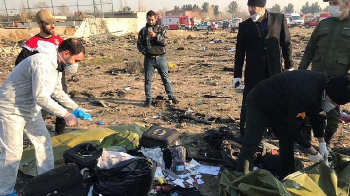 Украина хочет провести поиски на месте авиакатастрофы