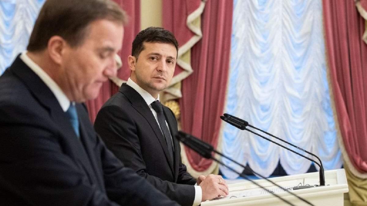 Зеленский провел телефонный разговор со Стефаном Левеном