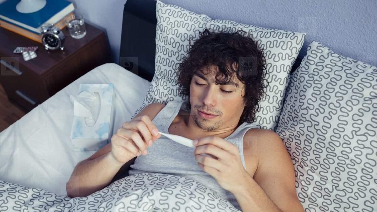 Температура тіла здорових людей знижується