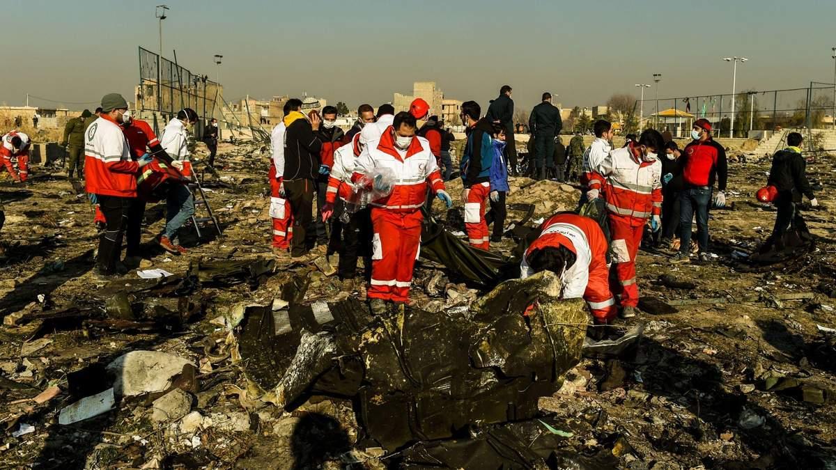 Авіакатастрофа МАУ в Ірані: у мережі відтворили відео авіакатастрофи