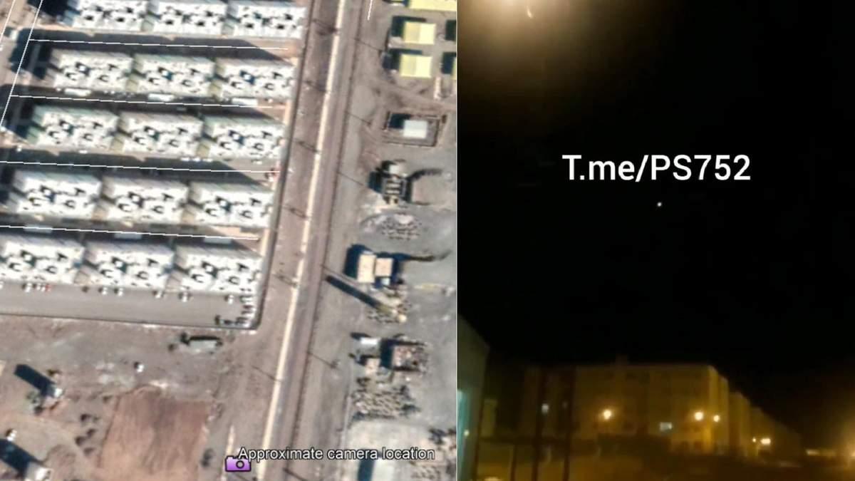 Літак МАУ в Ірані ймовірно збила ракета: Bellingcat підтвердив геолокацію відео – фотодокази