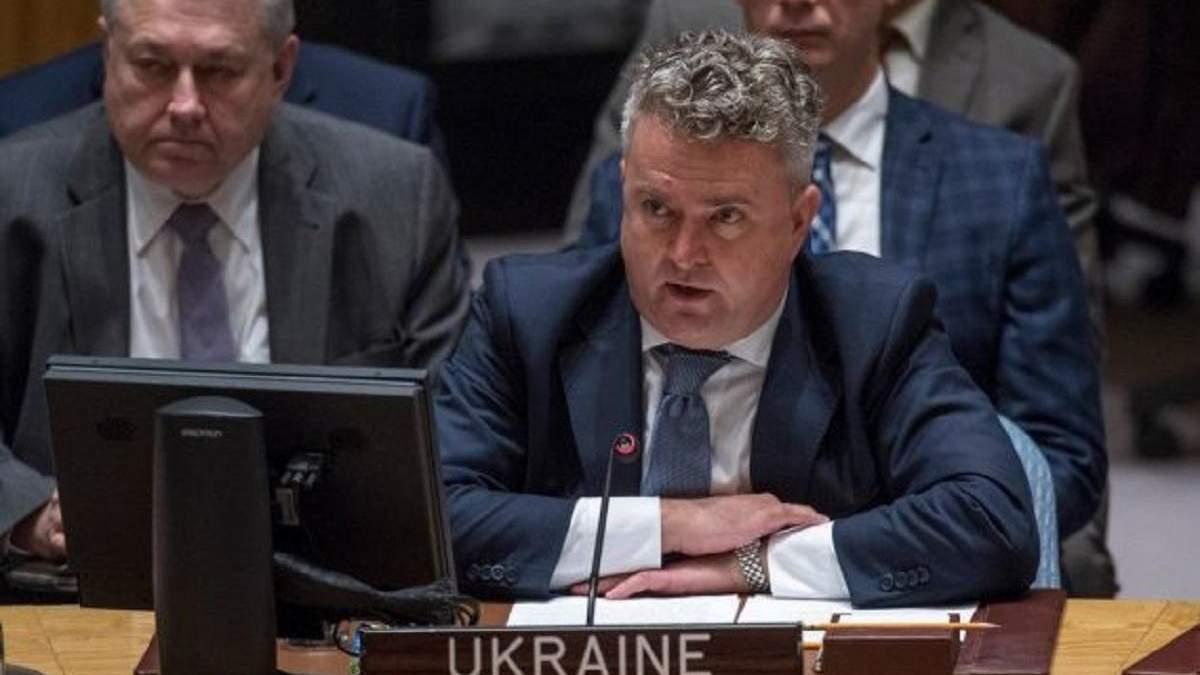 Сергій Кислиця в ООН нагадав Росії про Крим