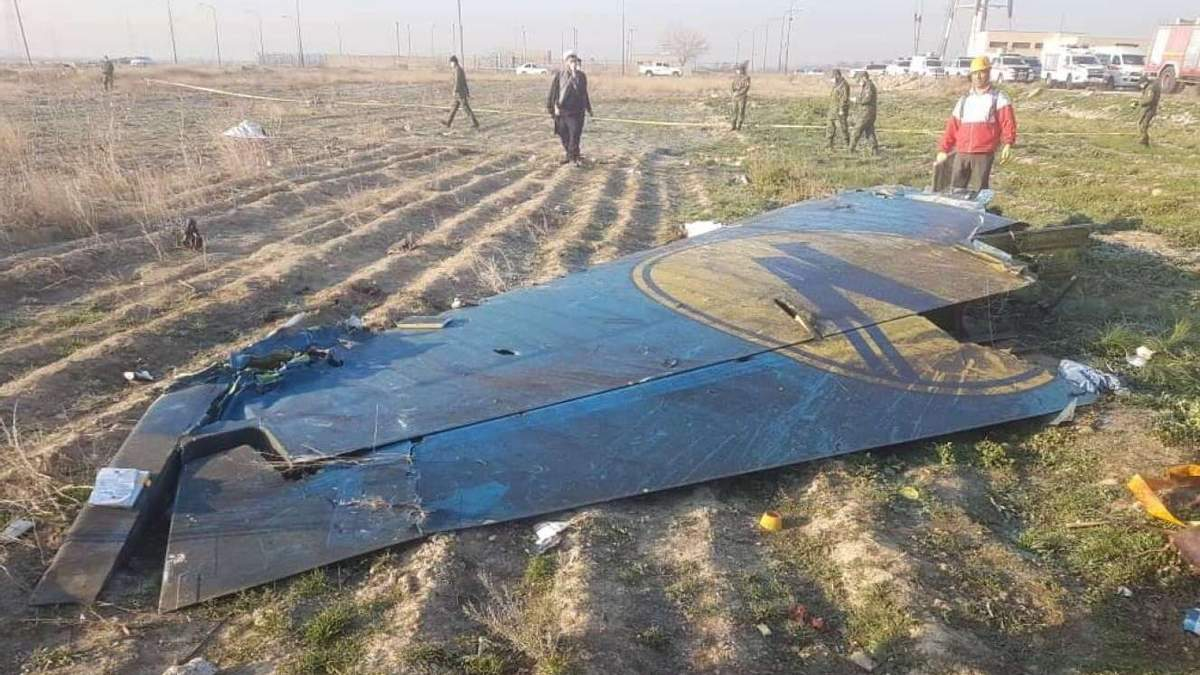 Український літак могли збити з секретної бази Ірану