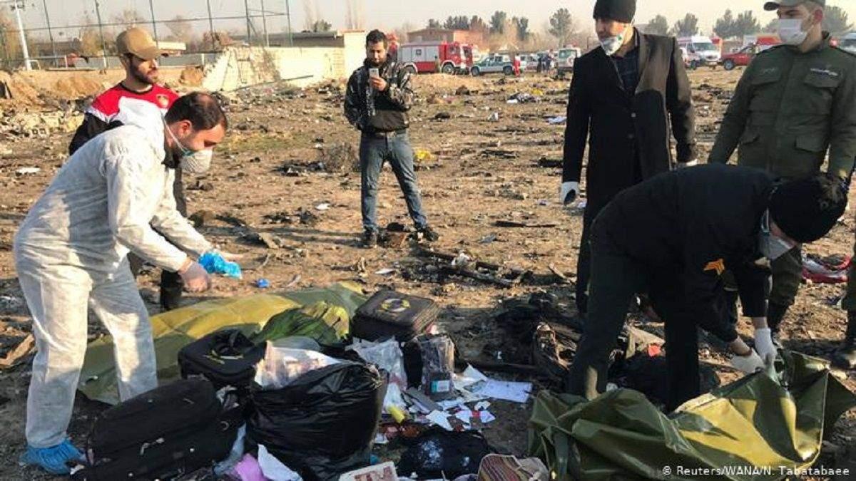 Україна отримала важливі дані від США щодо авіакатастрофи в Ірані